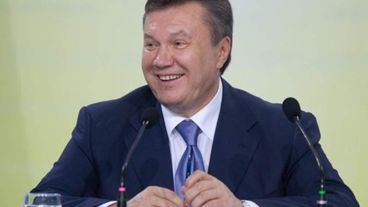 С Януковичем произошел конфуз на пресс-конференции