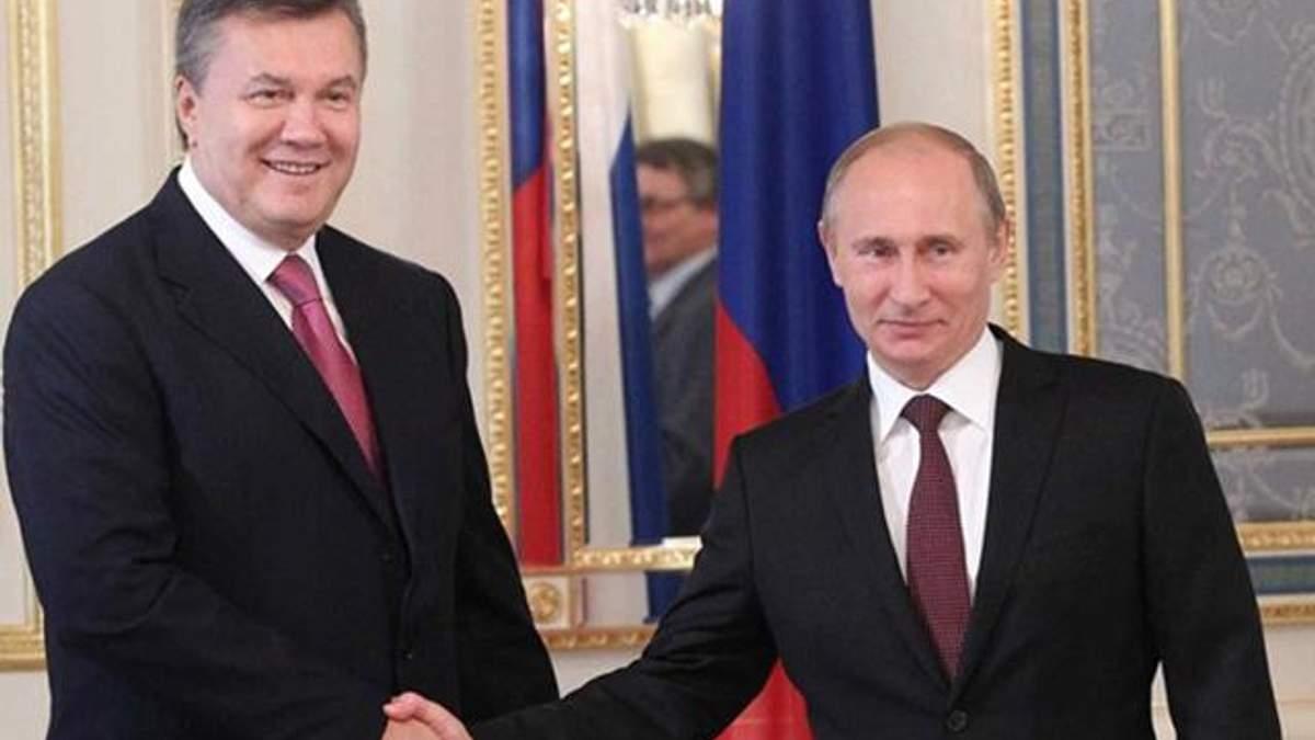 Пресс-конференция Януковича: Янукович о отношениях с Путиным