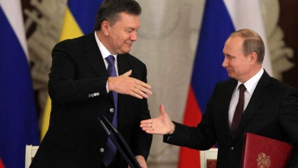Путін хоче повернути Януковича на Донбас