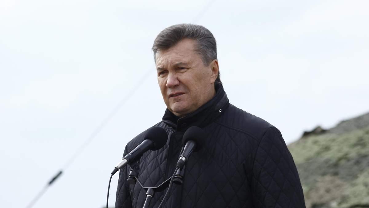 Что это? – Янукович не сумел ответить о Мальдивах