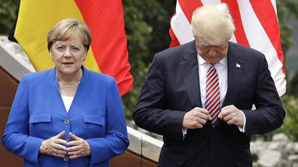 Меркель і Трамп прокоментували розробку нових ядерних ракет в Росії