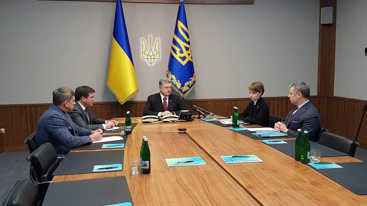 """Порошенко созвал экстренное совещание из-за """"Газпрома"""""""