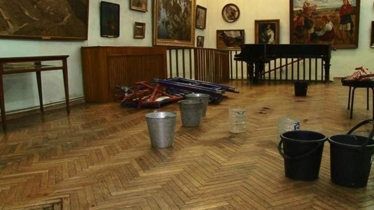 В Одеському художньому музеї шедеври живопису під загрозою знищення