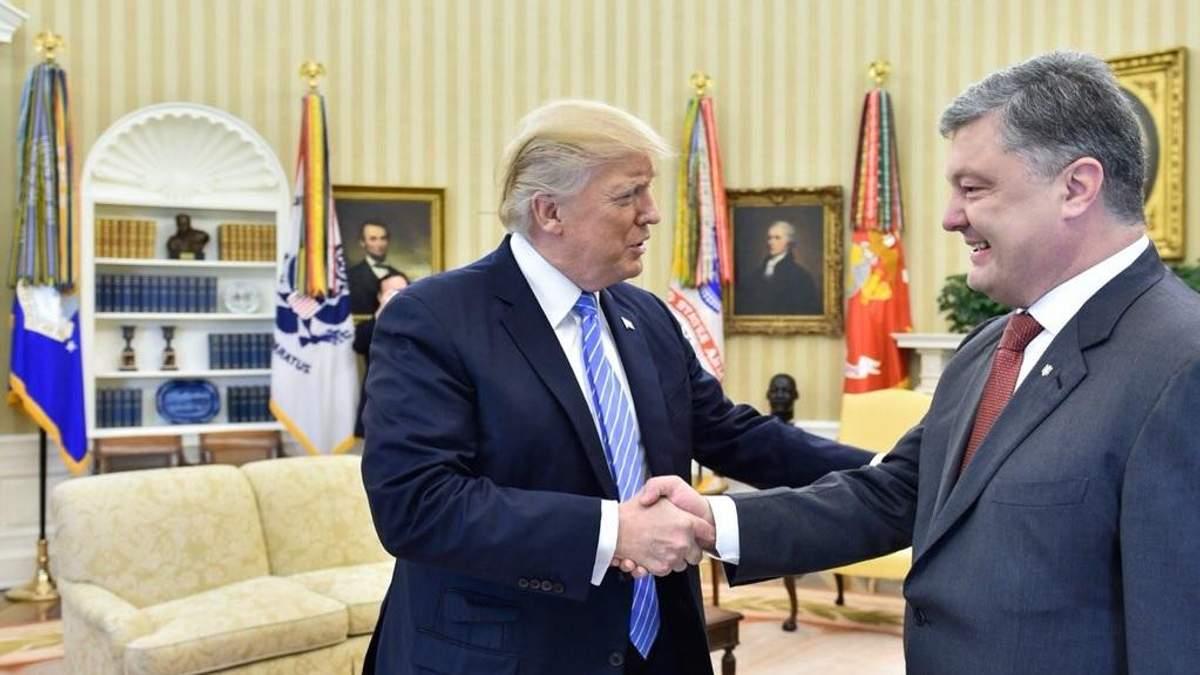 Порошенко відреагував на продовження США санкцій проти Росії