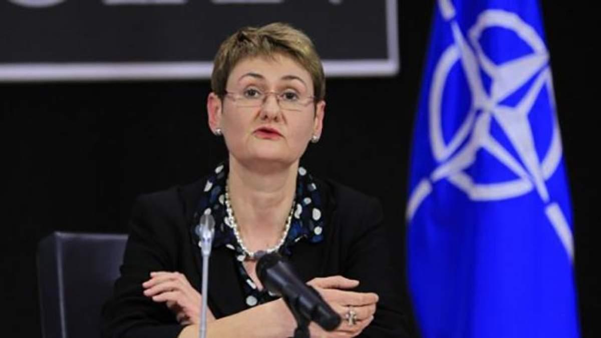 Прес-секретар НАТО Оана Лунгеску