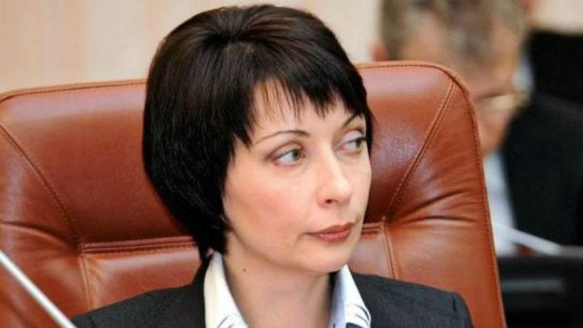З Олени Лукаш зняли санкції