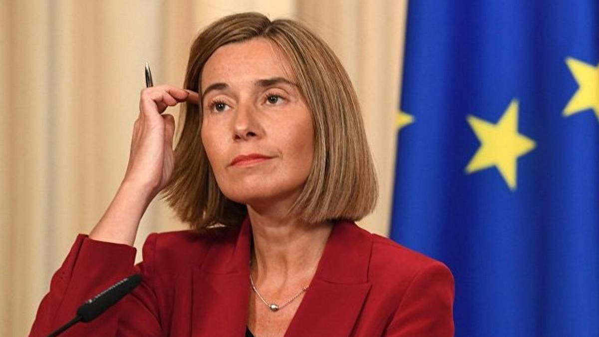 До Києва їде Могеріні говорити про реформи і ситуацію на Донбасі