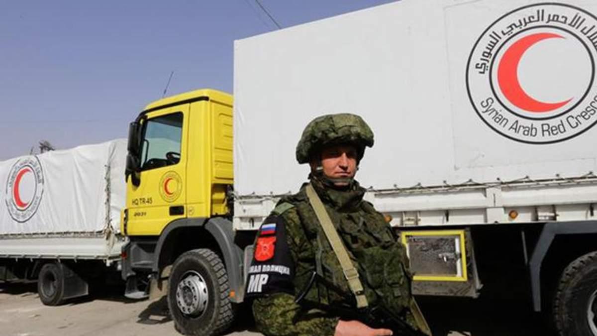 Власть Сирии разворовывает гумпомощь для Восточной Гуты, – Госдеп США