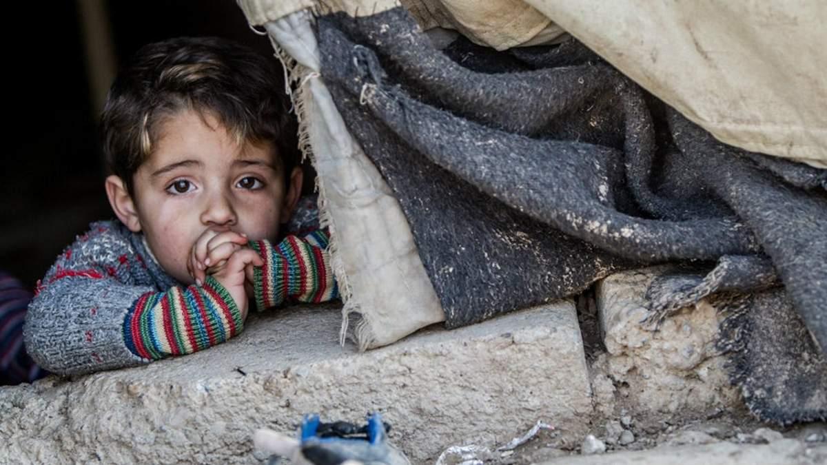 Атака на Східну Гуту вже забрала життя більше трьохсот дітей