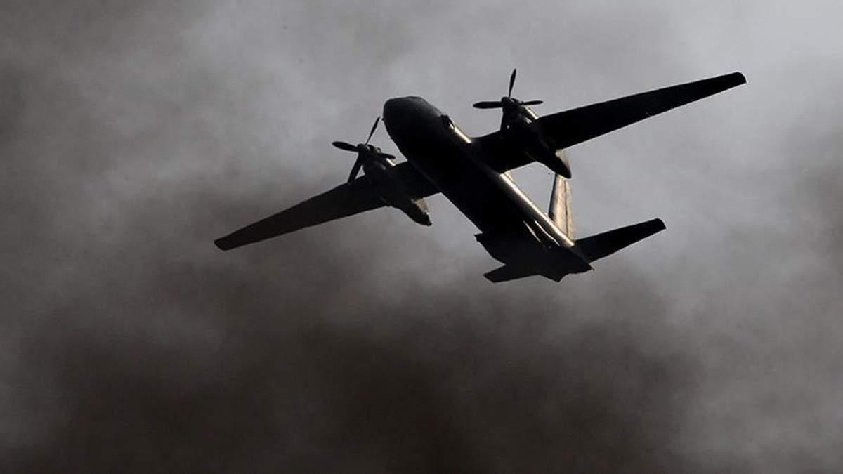 Падение самолета Ан-26 в Сирии