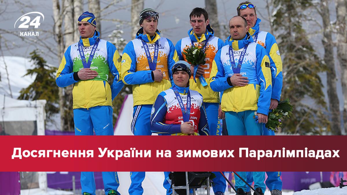 Паралімпійські ігри 2018: досягнення України у всіх іграх