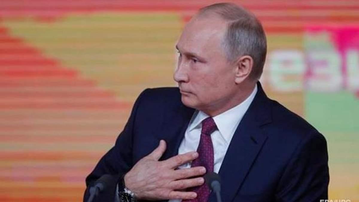 Путін про свій образ світового лиходія