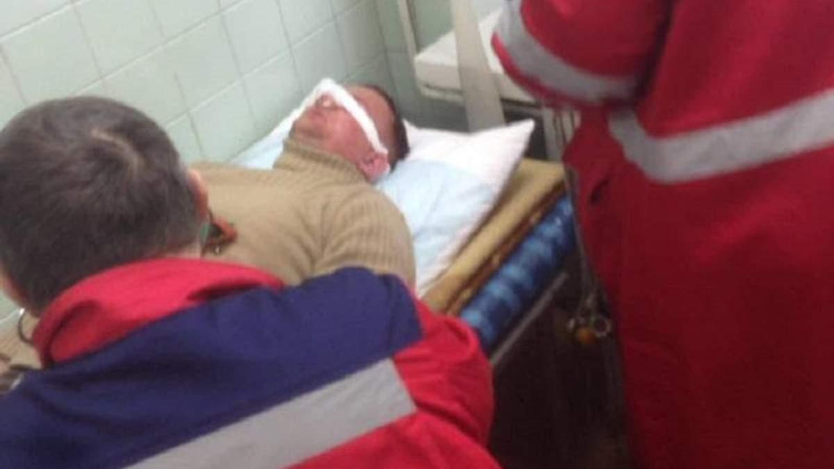 Избиение нардепа Левченко