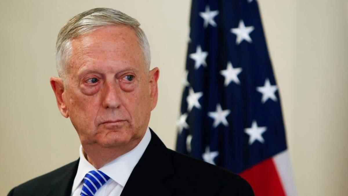 """Глава Пентагона Мэттис прокомментировал заявления Путина о """"новом"""" оружие"""