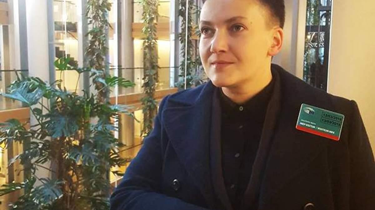Савченко назвала умову, за якої з'явиться на допит в СБУ