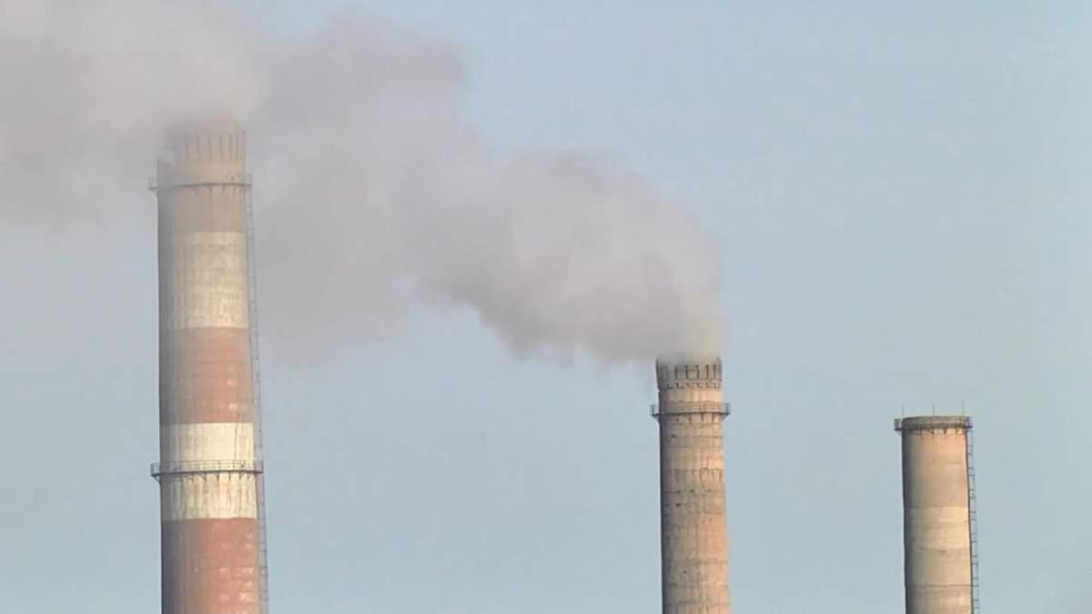 Приднепровская ТЭС отравляет воздух города-миллионника