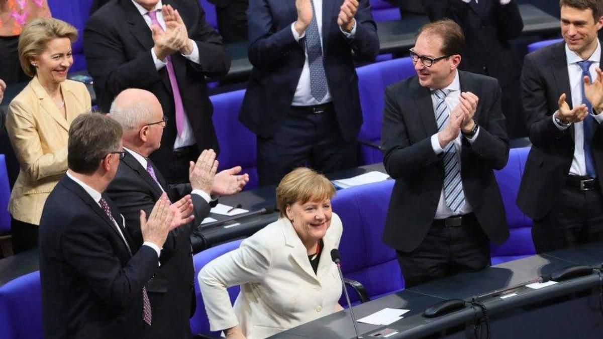 Ангела Меркель вчетверте стала канцлером Німеччини
