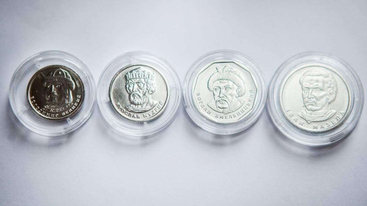 Бумажные гривны заменят на монеты: как выглядят новые монеты