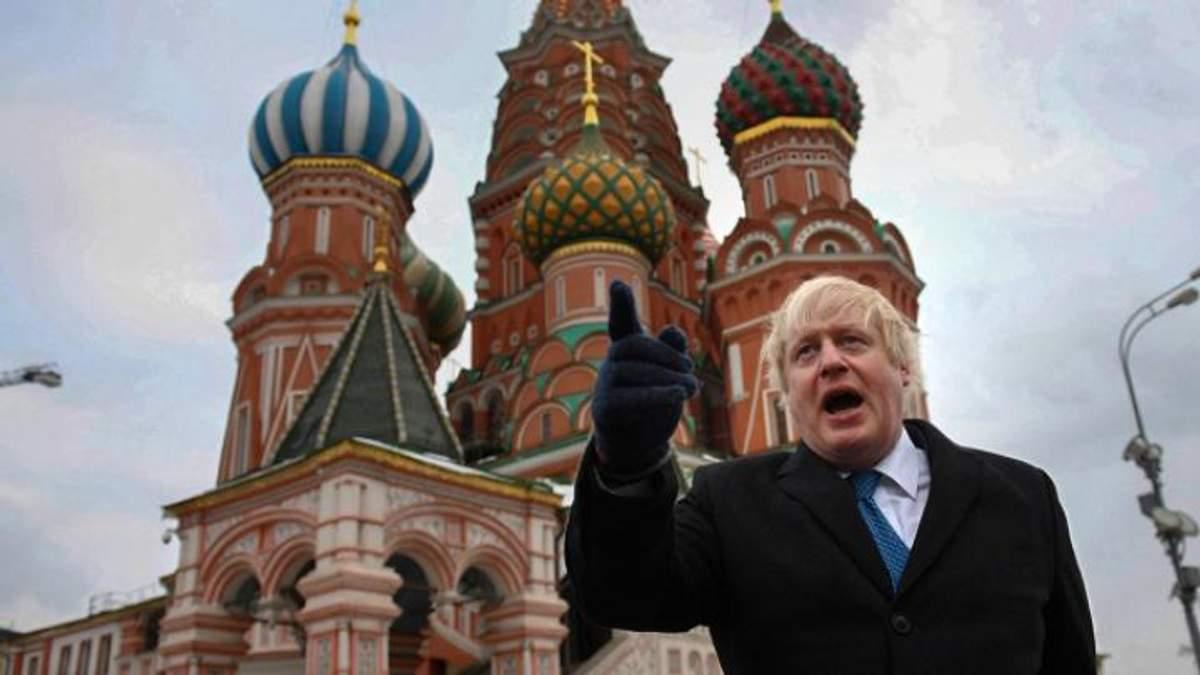 Джонсон заявив, що Путін, імовірно, віддав наказ отруїти Скрипаля