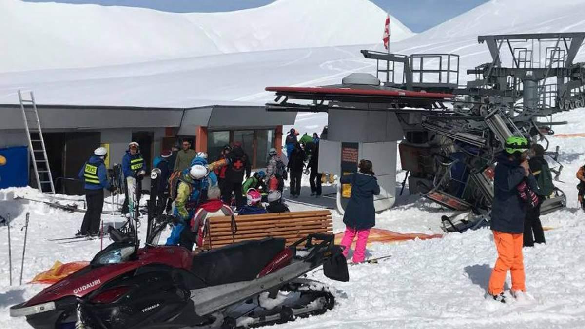 Авария подъемника на курорте в Грузии: комментарий посла Украины относительно пострадавших