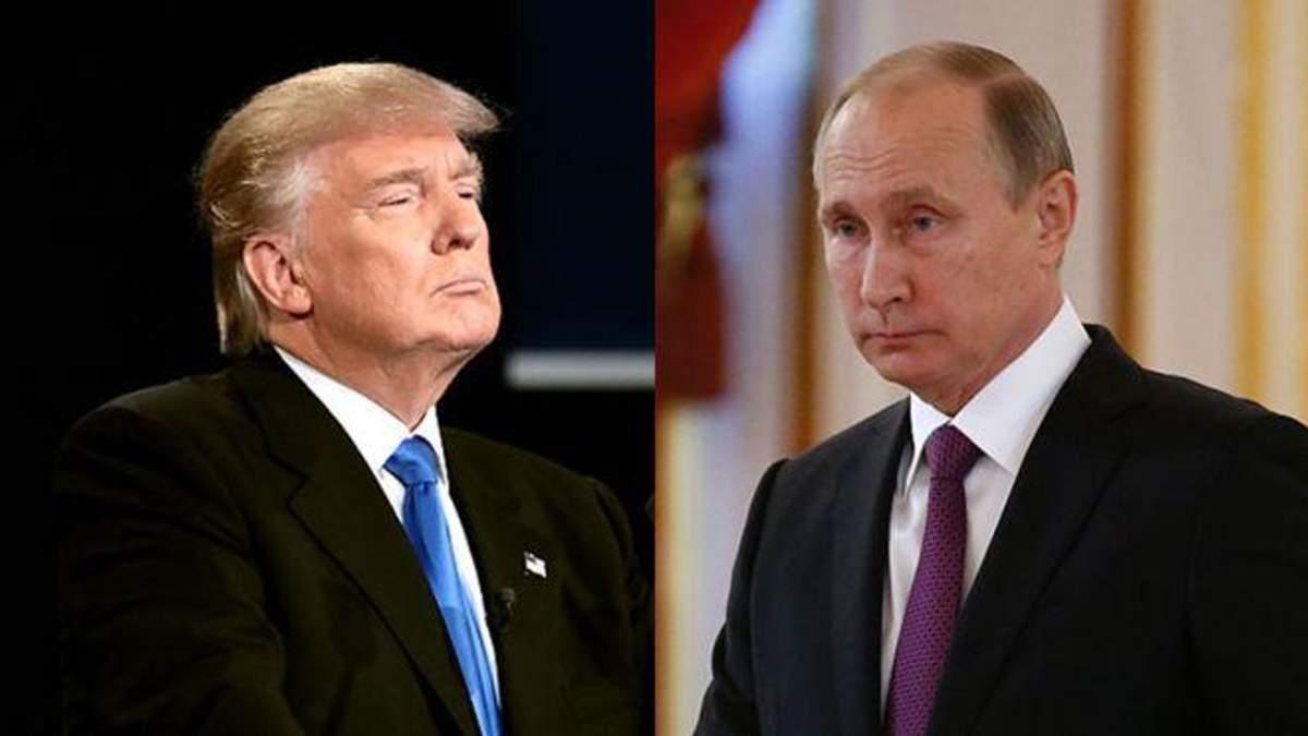 Помічники Трампа радили йому не вітати Путіна з перемогою на виборах