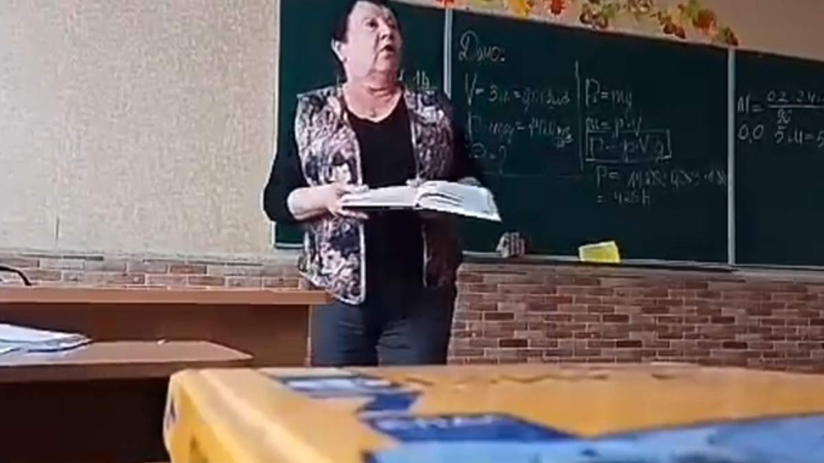 """""""Г*вно вонючее!"""": на Киевщине учительница грубо отругала ученика на уроке"""