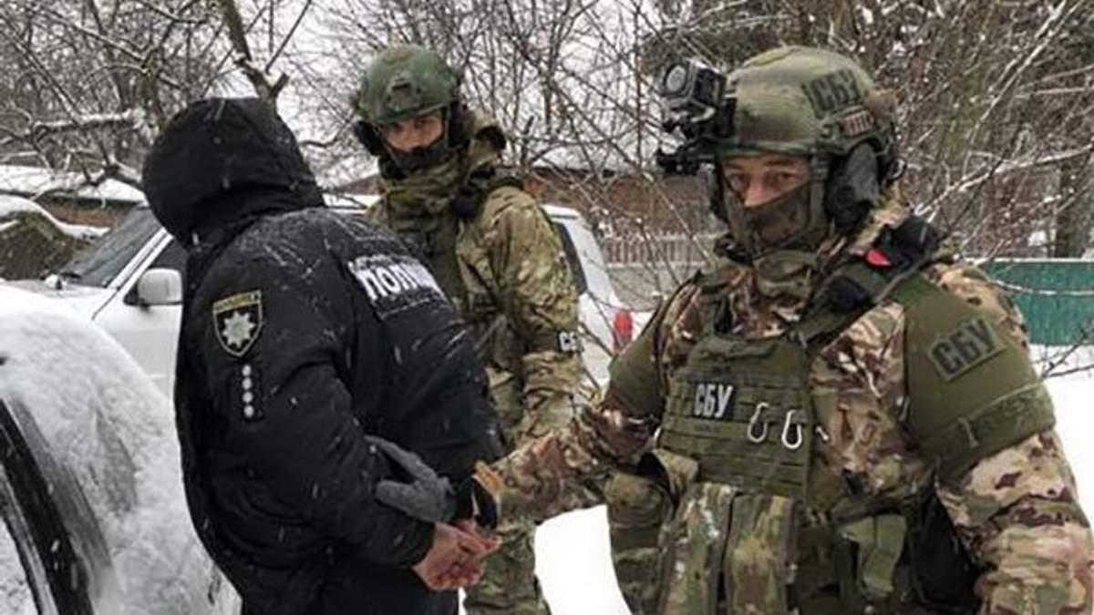 На Харківщині виявили агентурну мережу російських спецслужб, серед затриманих – офіцер поліції