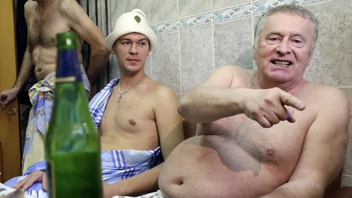 Володимир Жиріновський домагався до журналіста