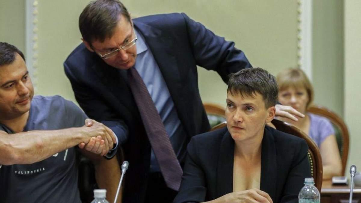 Поки для доведення вини Савченко доказів замало?