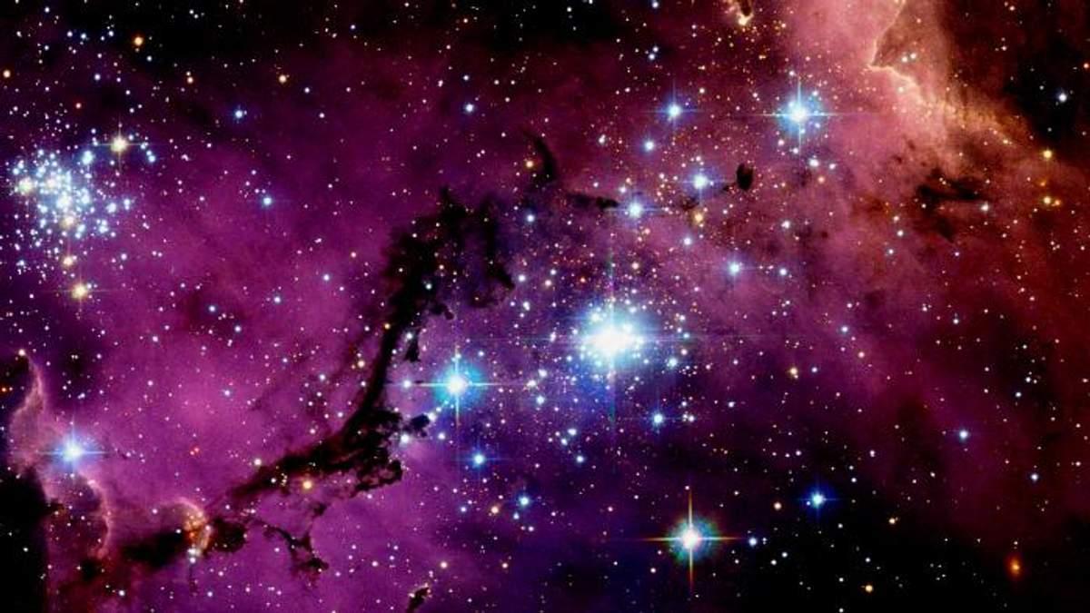 NASA показало зіткнення двох галактик