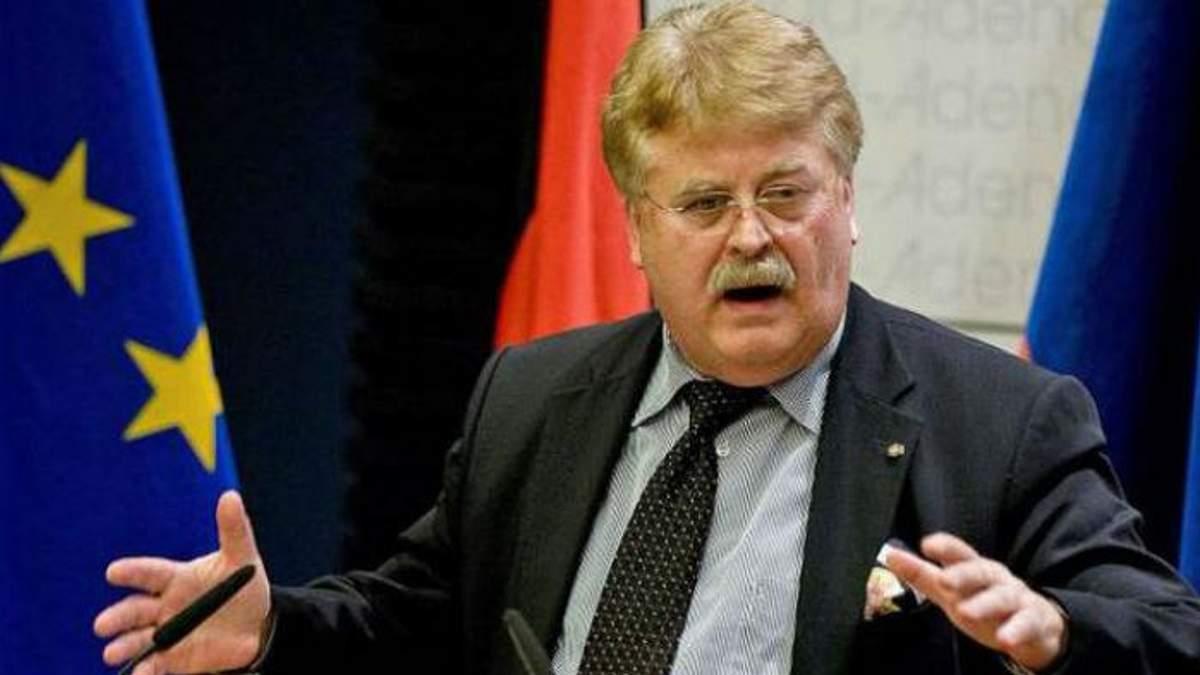 Німецький депутат Європарламенту Ельмар Брок