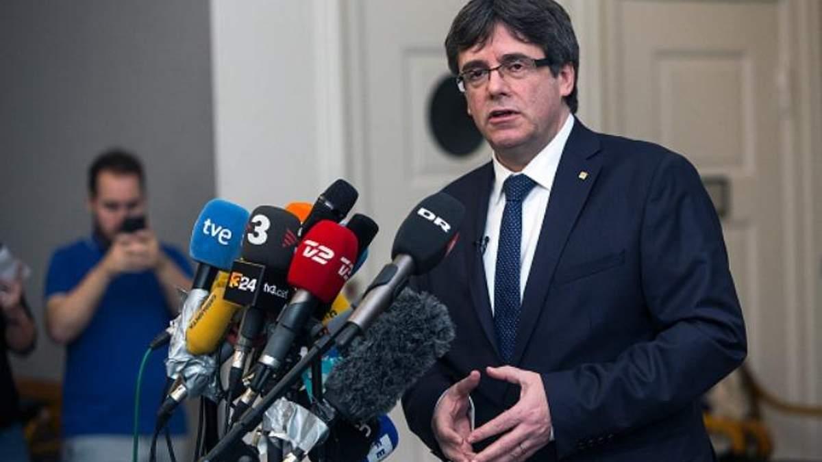 Испания требует у Финляндии выдачи Карлеса Пучдемона