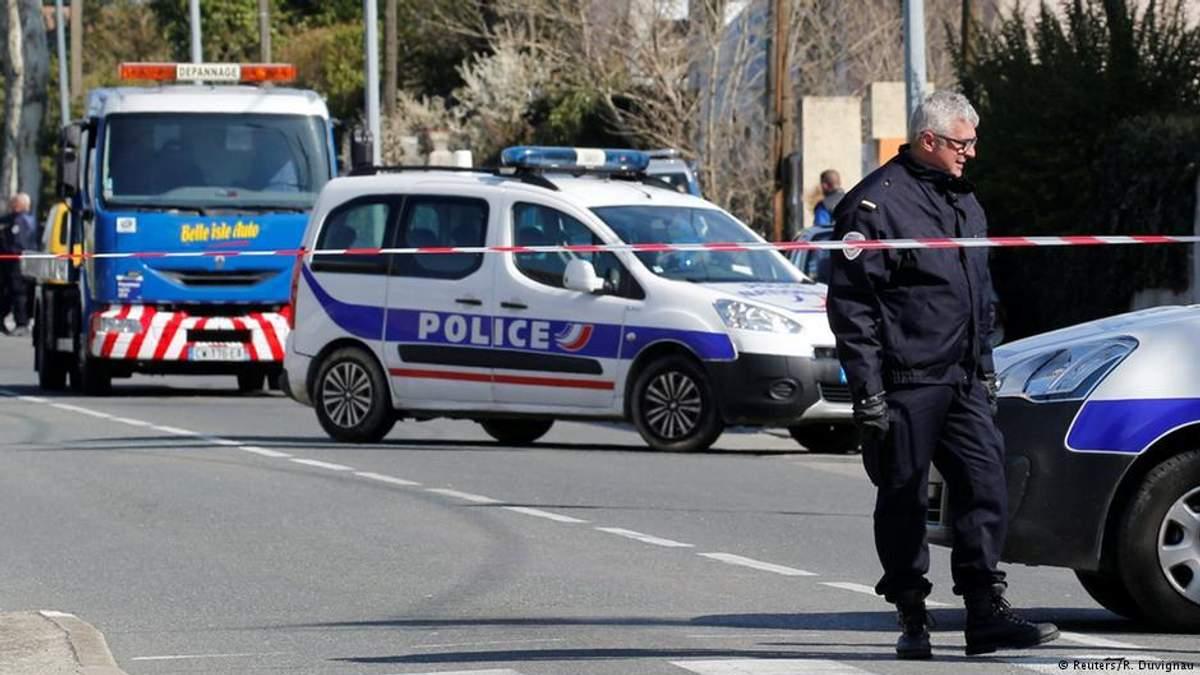 Місце теракту у Франції