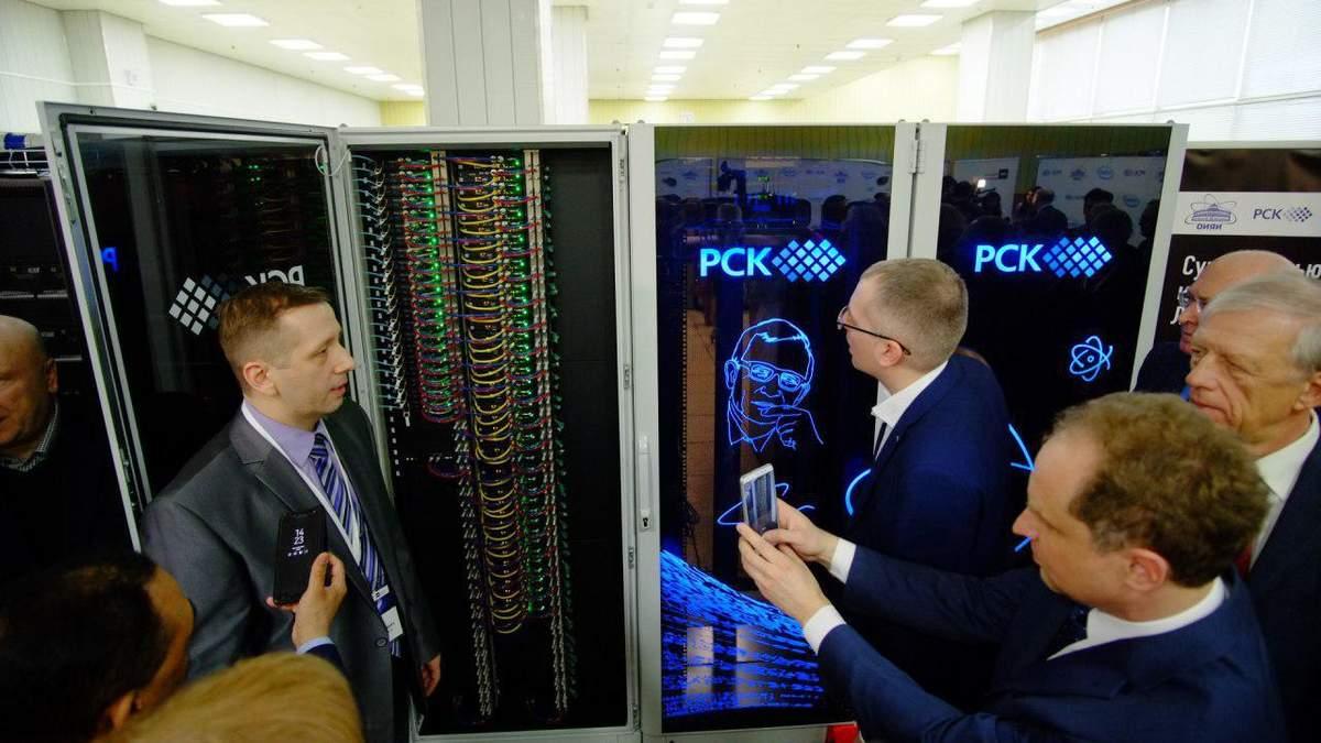 В России презентовали суперкомпьютер
