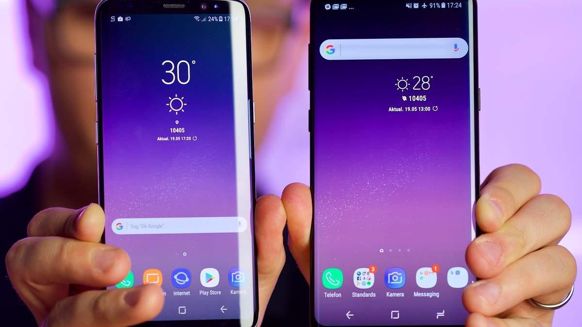 В Samsung отреагировали на жалобы относительно нерабочих экранов в телефонах Galaxy S9 и S9 +