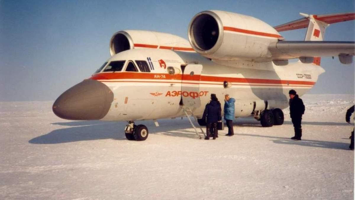 Ан-74 – лучший украинский самолет, которому не страшны арктические морозы