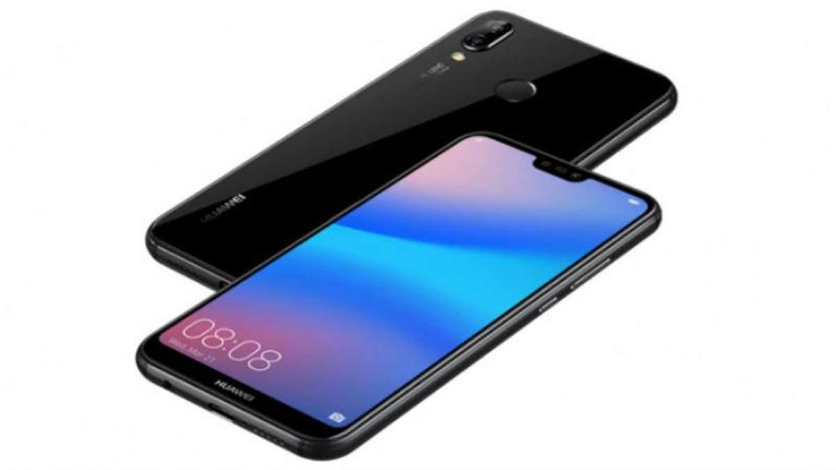 В Україні стартував продаж Huawei P20 lite