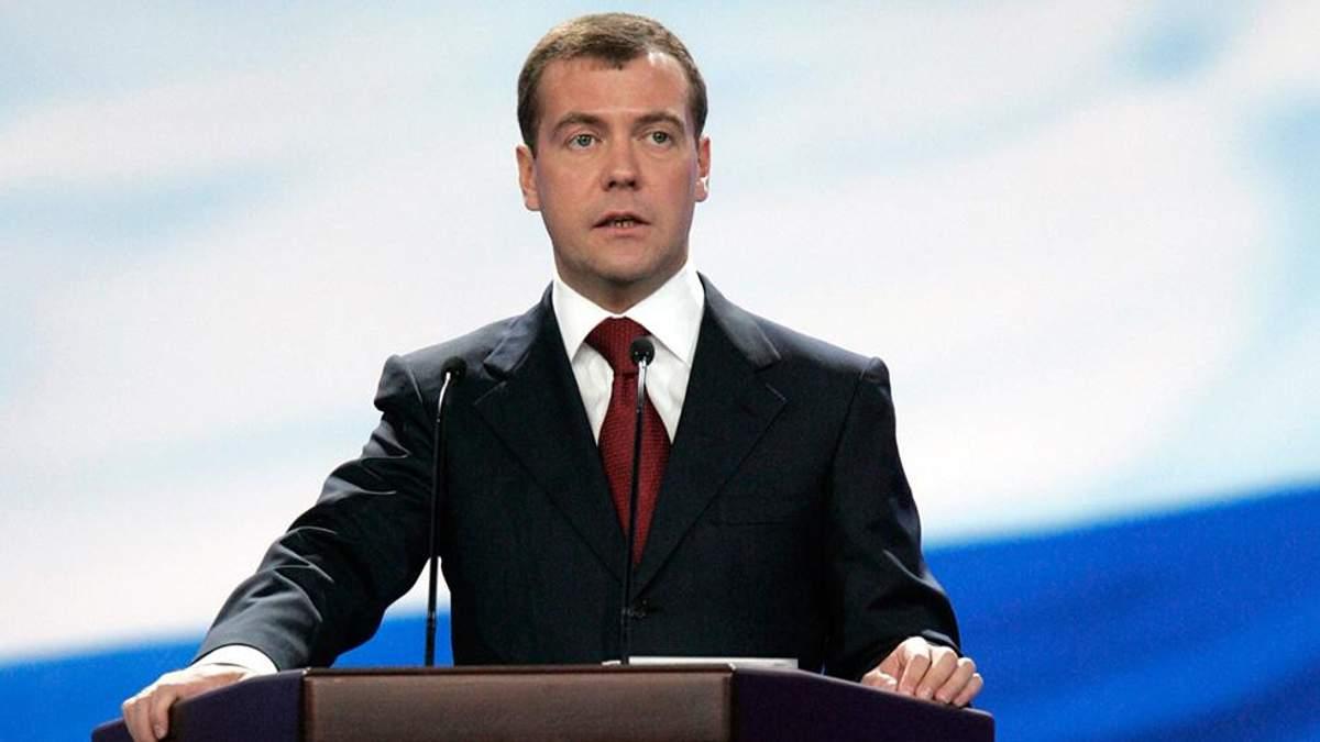 Санкції США проти Росії: Медведєв заявив про право на відповідь