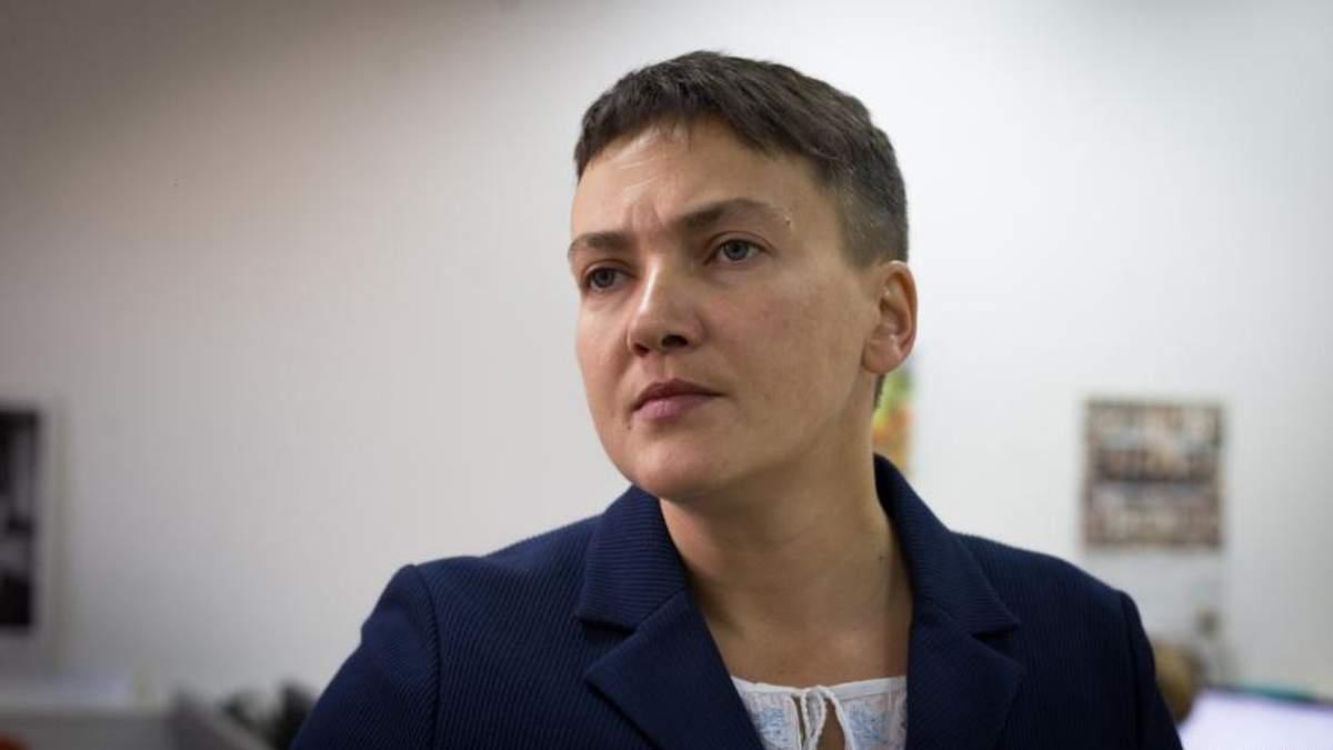 Савченко назвала условие, при котором прекратит голодовку