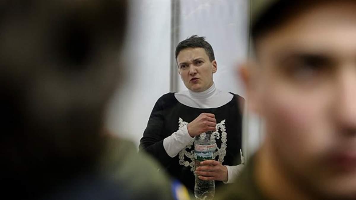 Савченко проходит проверку на полиграфе: появились детали
