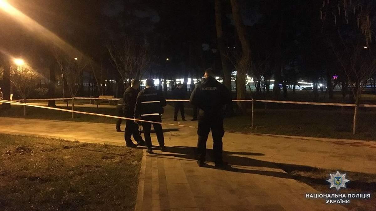 Взрыв гранаты во время драки в парке Киева: в полиции обнародовали детали