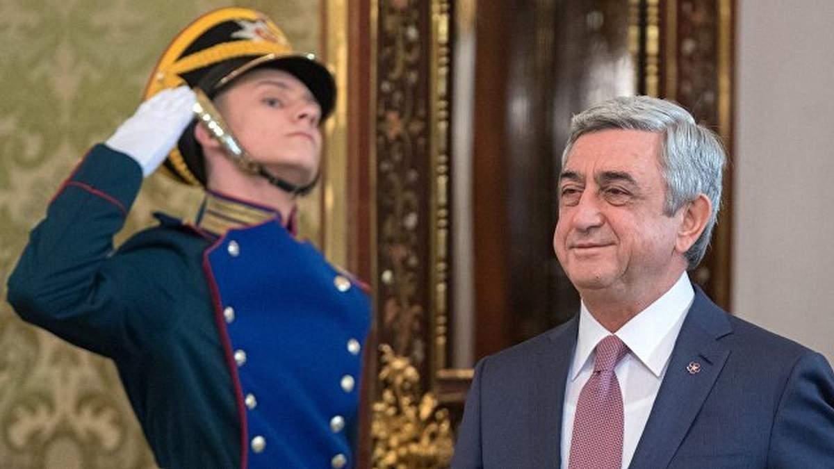 Парламент Армении избрал Сержа Саргсяна на должность премьер-министра