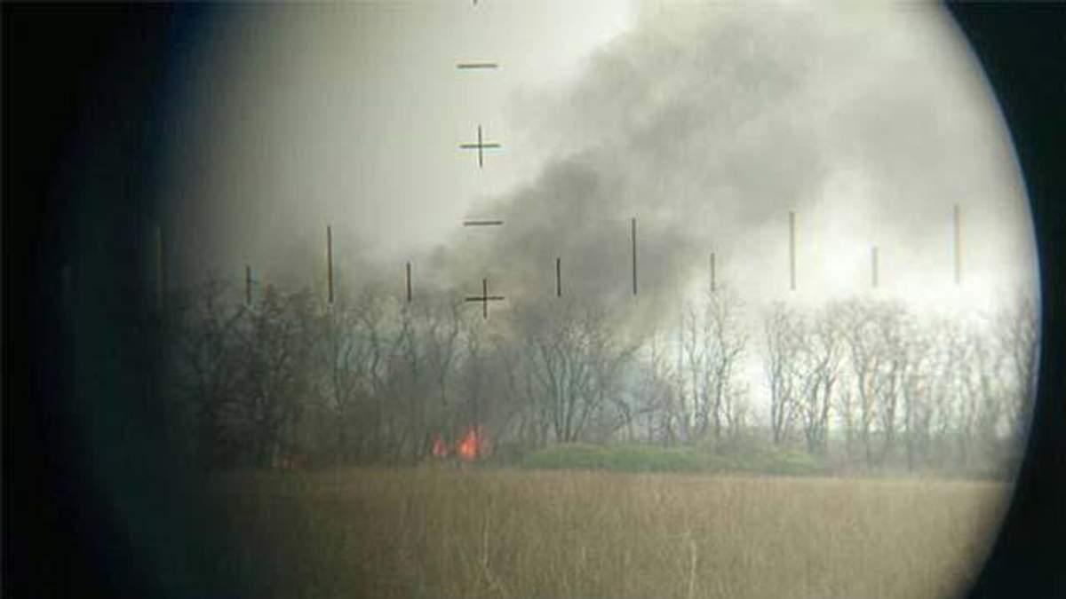 На Донбасі знищили ворожу позицію: український волонтер показав фото