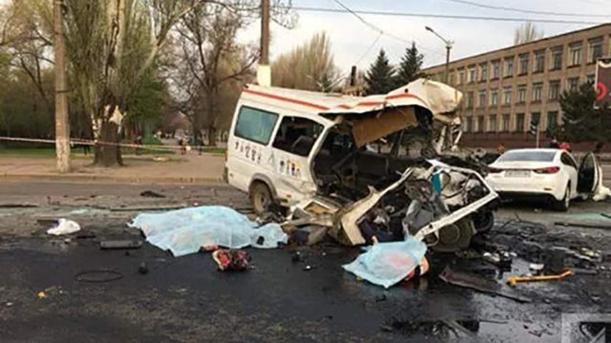 ДТП в Кривом Роге: задержанный водитель-участник аварии серьезно болен