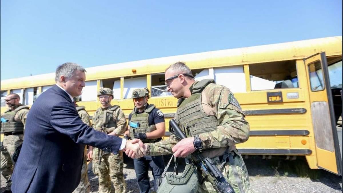 Аваков договорился о продлении совместных тренингов полицейских США и Украины