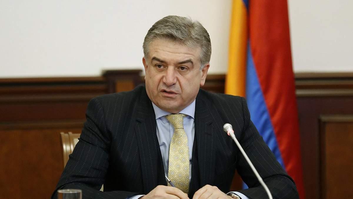 """Вірменія отримала нового керівника уряду: це колишній функціонер структур """"Газпрому"""""""