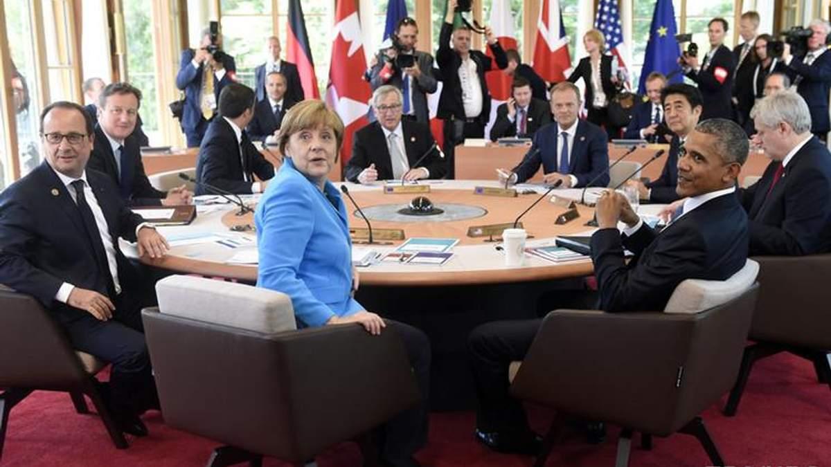 Топ-7 главных тезисов собрания G7 по отношению к Украине
