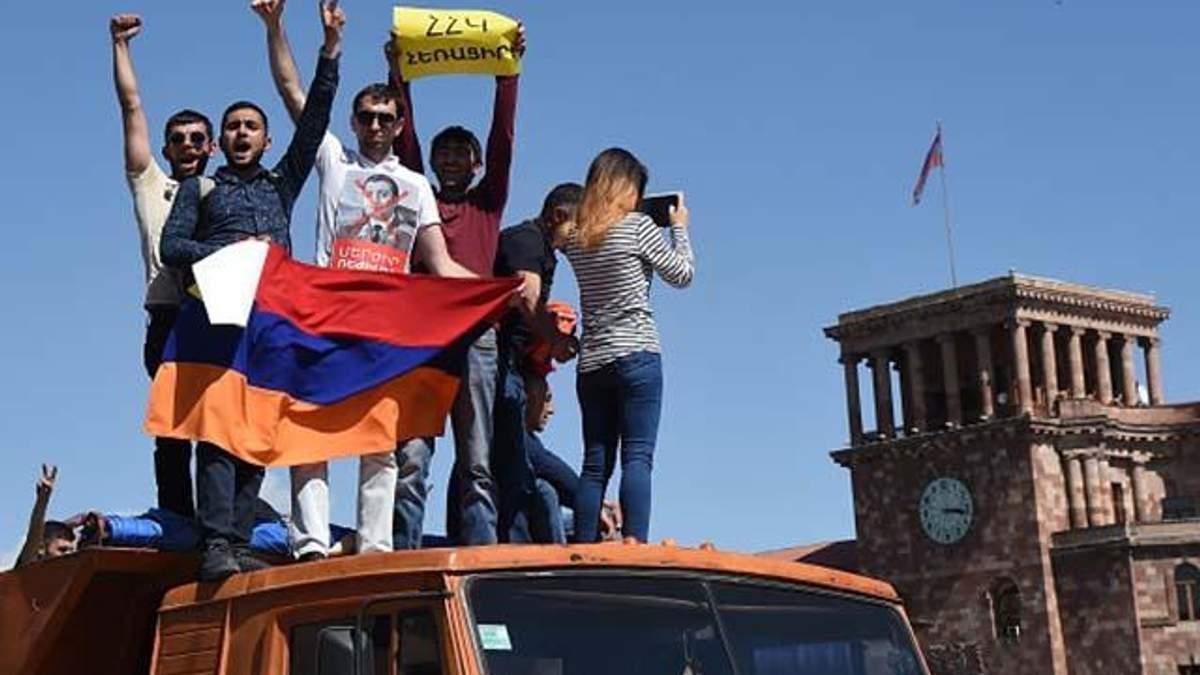 Революція у Вірменії: Лідер протестів розповів про важливу обіцянку Росії