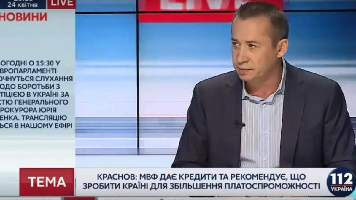 """Загид Краснов в эфире телеканала """"112 Украина"""""""