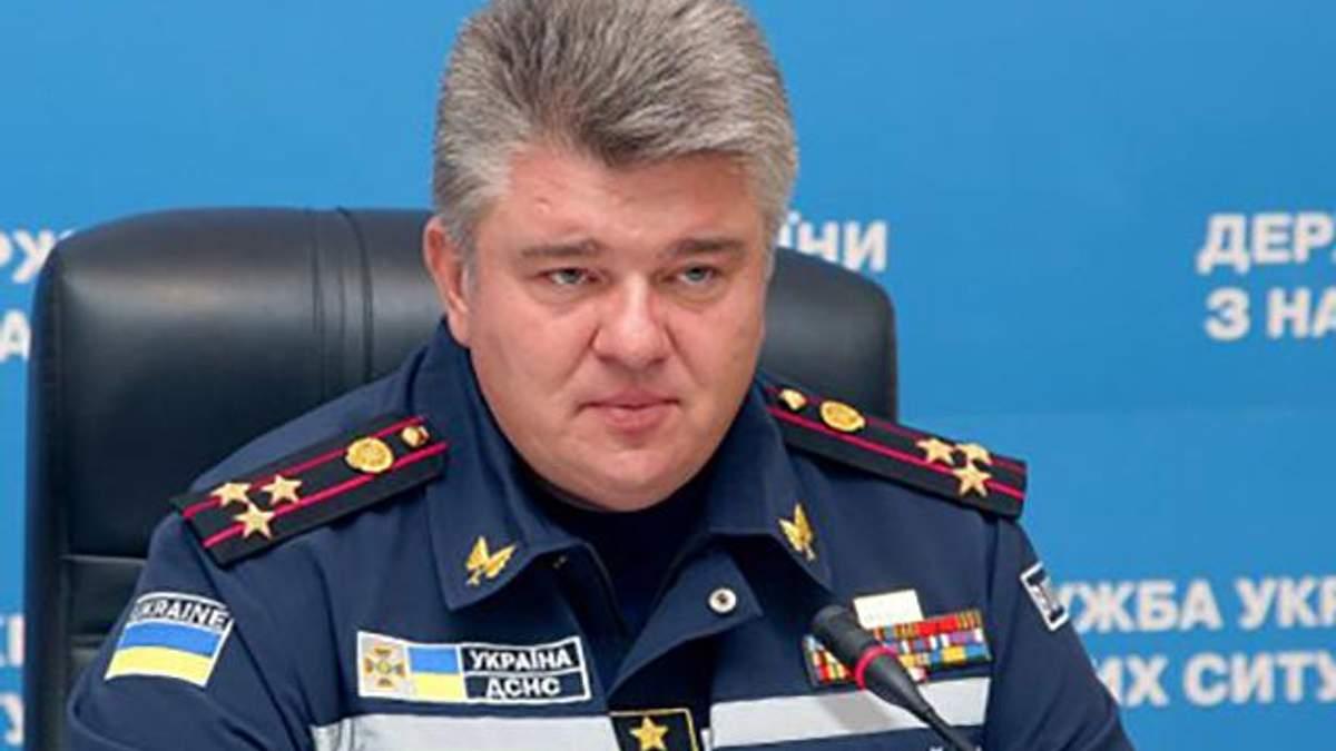 Восстановленный в должности главы ГСЧС Бочковский уже завтра выйдет на работу